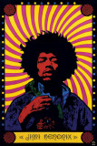 Jimi Hendrix Masterprint