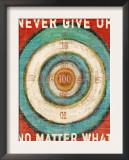 Vintage Dartboard Bullseye Posters by Lisa Weedn