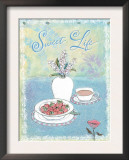 Sweet Life Poster by Flavia Weedn