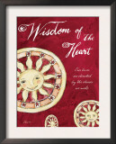 Celestial Wisdom of the Heart Art by Flavia Weedn