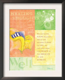 Healing Thoughts Prints by Flavia Weedn