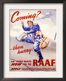WII Royal Air Force Recruiting Poster Poster