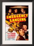 Forrest Tucker Emergency Landing Poster Posters