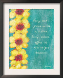 Every Seed Grows Prints by Flavia Weedn