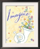 Imagine Joy Posters by Flavia Weedn