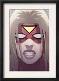 Spider-Woman: Origin 3 Cover: Spider Woman Print by Jonathan Luna