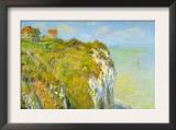 Cliffs Poster by Claude Monet