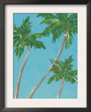 Palm Tree Sway Poster by Flavia Weedn