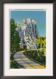 Custer State Park, South Dakota - Needles Highway View of the Chessmen, c.1937 Posters
