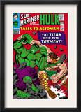 Tales To Astonish 79 Cover: Hulk and Hercules Print by Reilly Brown
