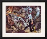 Astonishing Tales 4 Group: Predator X, Punisher and Wolverine Prints by Lou Kang