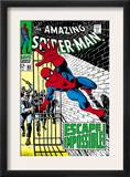 The Amazing Spider-Man 65 Cover: Spider-Man Charging Prints by John Romita Sr.