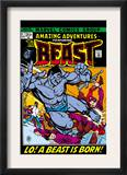 Amazing Adventures 11 Cover: Beast Prints by Gil Kane