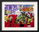 New Mutants Special Edition 1 Cover: Warlock, Wolfsbane, Magik and New Mutants Art by Arthur Adams
