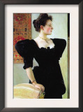 Portrait of Marie Breunig Prints by Gustav Klimt