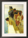 Good Vantage Point Poster by Sir Lawrence Alma-Tadema
