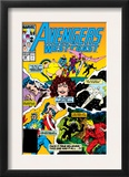 Avengers West Coast 49 Cover: Scarlet Witch Prints by John Byrne