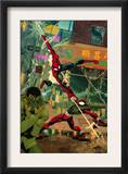 Spider-Man: The Clone Saga 6 Cover: Spider-Man and Scarlet Spider Posters by Chris Cross