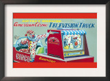 American Circus Television Truck Prints