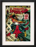 Marvel Comics Retro: The Amazing Spider-Man Comic Book Cover 123, Luke Cage - Hero for Hire (aged) Prints