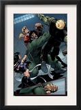 Young Avengers 8 Group: Mr. Hyde, Bishop, Kate, Hulkling and Young Avengers Art by Andrea Di Vito