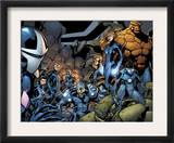 Marvel Team-Up 18 Group: Mutant 2099, Thing, Dagger, Speedball, X-23 and Gravity Posters by Paco Medina
