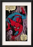 Marvel Comics Retro: The Amazing Spider-Man Comic Panel, Crawling (aged) Poster