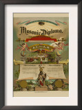 Symbols - Masonic Diploma Prints