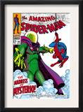 The Amazing Spider-Man 66 Cover: Mysterio and Spider-Man Fighting Posters by John Romita Sr.