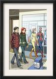 Spider-Man Loves Mary Jane 18 Cover: Spider-Man Print by David Hahn