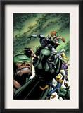 Marvel Team Up 16 Cover: Chronok, Arana, X-23, Speedball, Dagger, Gravity, Sleepwalker and Terror Posters by Paco Medina