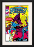 Speedball 1 Cover: Speedball Fighting Prints by Steve Ditko