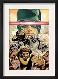 Young X-Men 3 Cover: Cyclops, Rockslide and Dust Posters by Terry Dodson