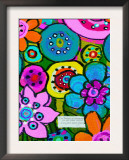 Groovy Garden Party Prints by Lisa Weedn