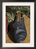 Shoe Hand-Made by a Cobbler Reenactor at Yorktown Battlefield, Virginia Posters