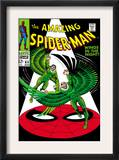 The Amazing Spider-Man 63 Cover: Vulture Flying Print by John Romita Sr.