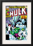 The Incredible Hulk 249 Cover: Hulk and Jack Frost Fighting Posters by Steve Ditko