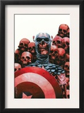 Captain America: The Chosen 5 Cover: Captain America Print by Mitchell Breitweiser