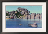 Custer State Park, South Dakota - View of Sylvan Lake in the Black Hills, c.1935 Posters