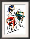 Cyclists Print