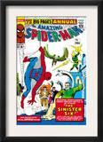 Amazing Spider-Man Annual 1 Cover: Spider-Man Posters by Steve Ditko