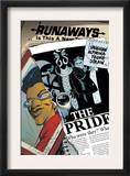 Runaways 14 Cover: Wilder and Alex Posters by Adrian Alphona