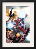 The Mighty Avengers 32 Cover: Iron Patriot Posters by Khoi Pham
