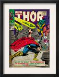 Marvel Comics Retro: The Mighty Thor Comic Book Cover 143, Sif (aged) Posters