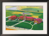 Wichita Falls, Texas - Aerial View of the Hardin Junior College, c.1952 Posters