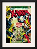 Marvel Comics Retro: The X-Men Comic Book Cover 100, Professor X (aged) Print