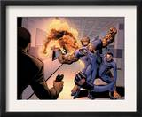 Dark Reign: Fantastic Four 4 Group: Invisible Woman, Thing, Mr. Fantastic and Human Torch Posters by Sean Chen