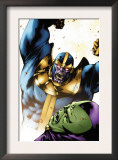 Drax The Destroyer 2 Cover: Thanos and Drax The Destroyer Posters by Mitchell Breitweiser