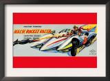 Mach Rocket Racer Prints