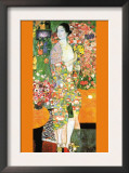 The Dancer Prints by Gustav Klimt